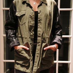river island military jacket